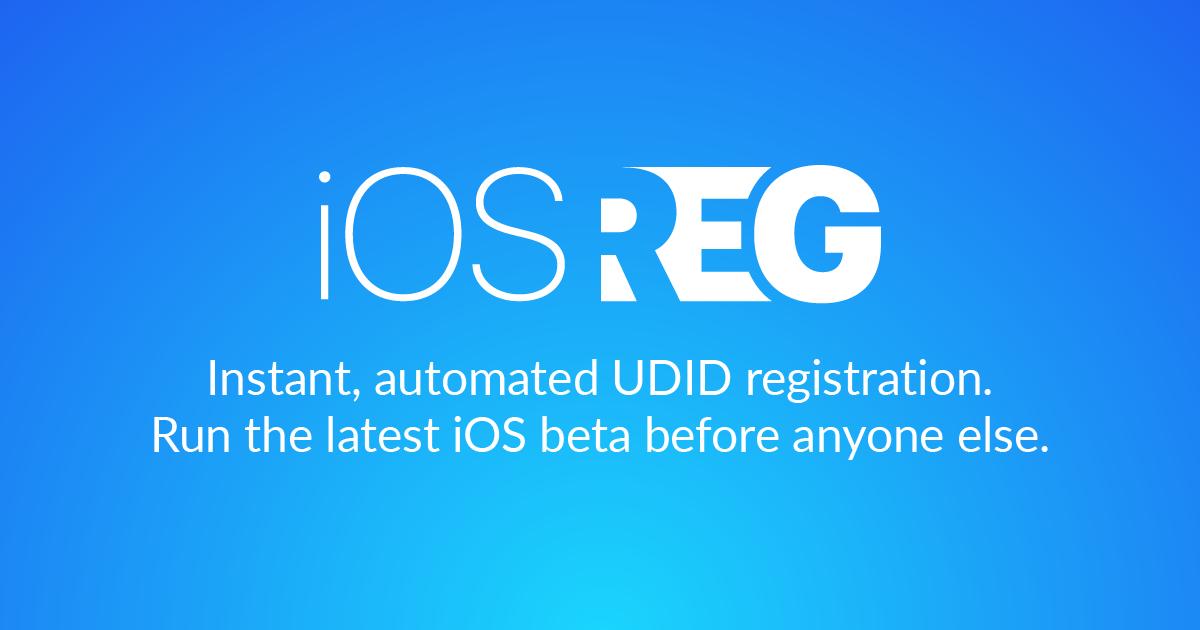 iOSReg · Help center